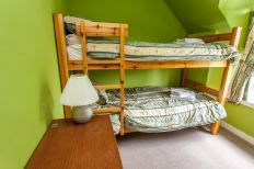 Bunk beds in Campbelltown Cottage No5, Leckmelm Holiday Cottages Ullapool