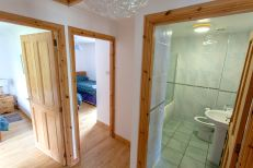 Interior of Lochside 3 self catering cottage on Leckmelm Estate