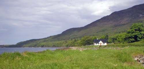 Beautiful scenery around Lochside Cottages, Leckmelm Holiday Cottages Ullapool