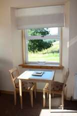 Dining at Campbelltown Cottage No2, Leckmelm Holiday Cottages, Ullapool